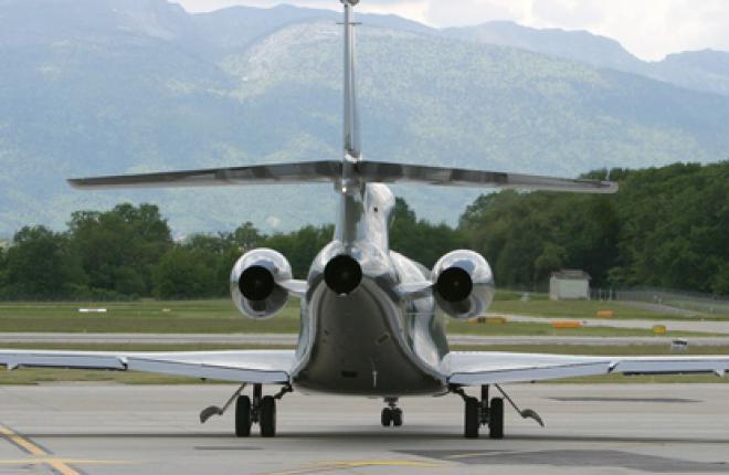 В 2012 году заказчикам будет поставлено 65 новых самолетов Dassault Falcon