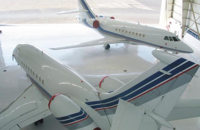 Dassault Falcon расширяет инфраструктуру техобслуживания в Москве