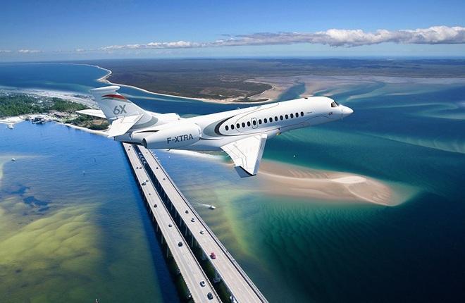 Самолет делового класса Dassault Falcon 6X