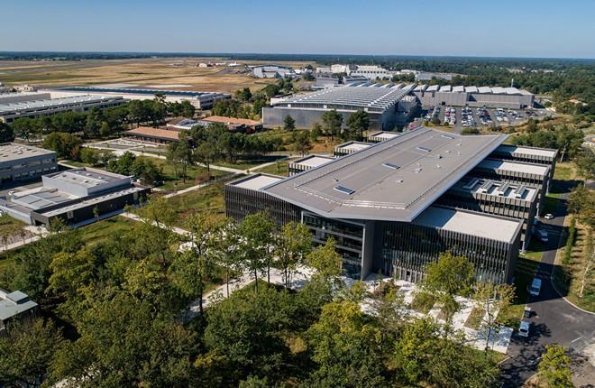 Dassault открывает новую площадку в Бордо-Мериньяке
