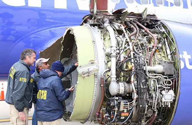 Двигатель CFM56-7B самолета Boeing 737-700 Southwest Airlines