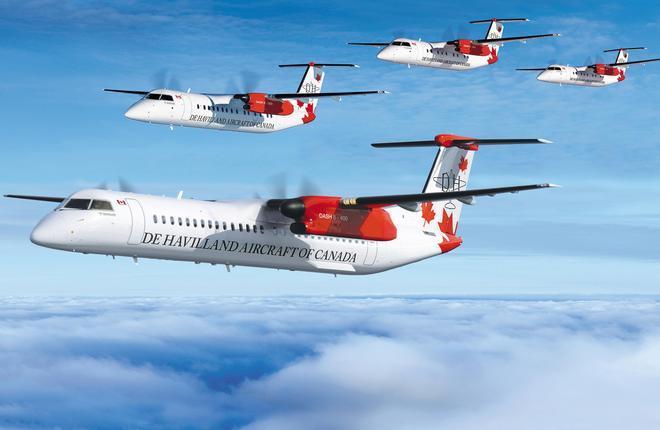 семейство региональных турбовинтовых самолетов Dash 8-400
