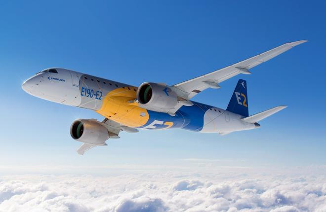 самолет Embraer E-Jet E2