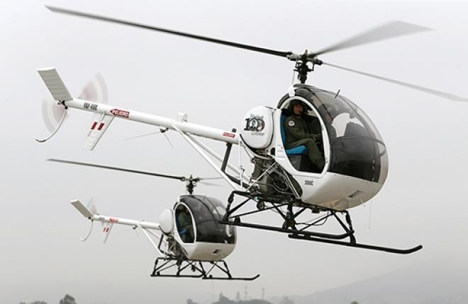 вертолеты Schweizer