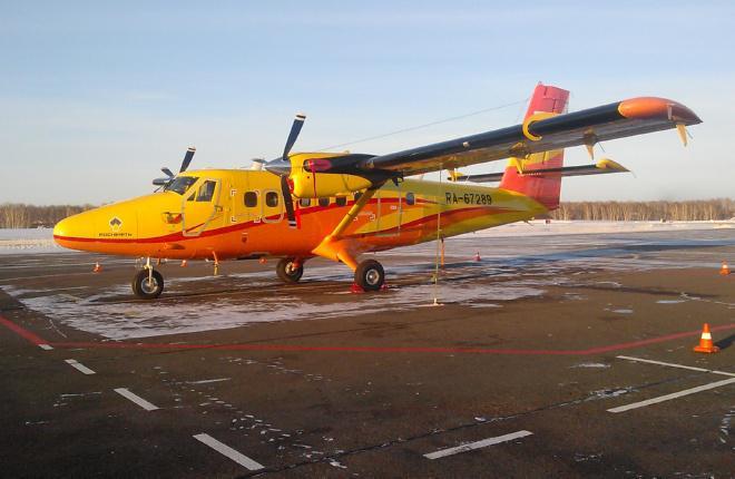Авиакомпания «АэроГео» перегнала в Россию второй самолет DHC-6 для «Роснефти»