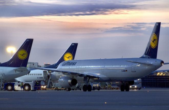 Чистый убыток группы Lufthansa по итогам 2011 года составил 13 млн евро