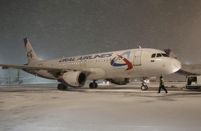 """Самолет A320 """"Уральских авиалиний"""""""