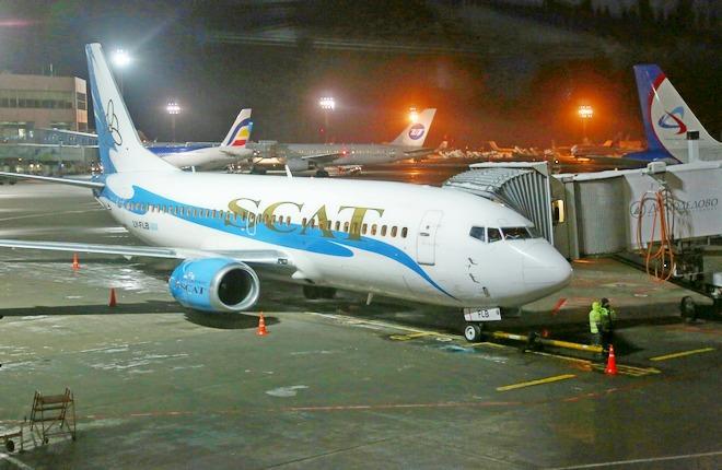 Boeing-737 авиакомпании SCAT
