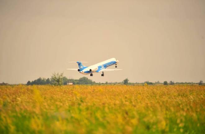Украинский рынок внутренних авиаперевозок показывает рост
