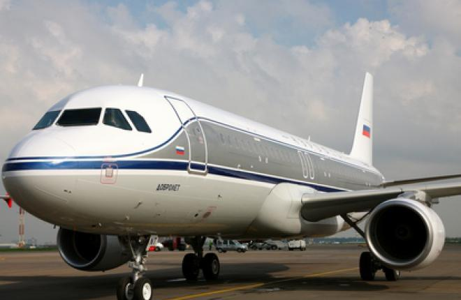 """""""Аэрофлот"""" представил новый самолет Airbus A320 в стиле ретро"""