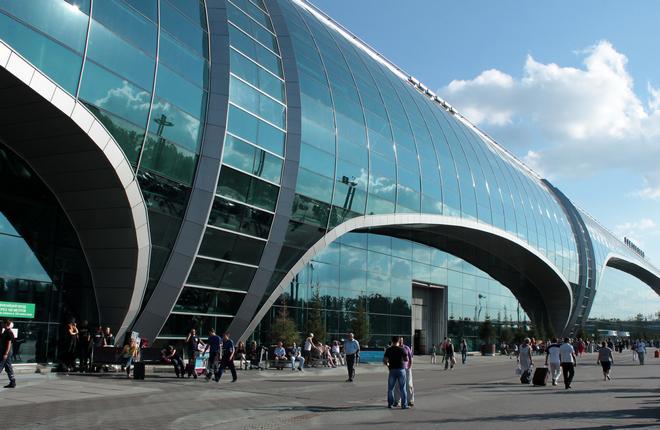 Терминал в аэропорту Домодедово