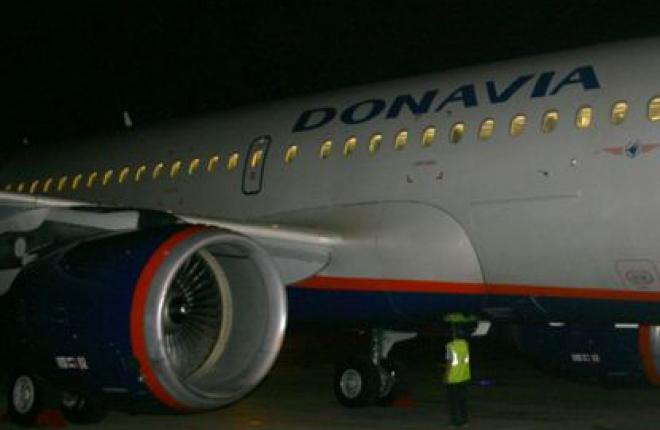 """Авиакомпании  """"Донавиа"""" получила шестой самолет Airbus A319"""