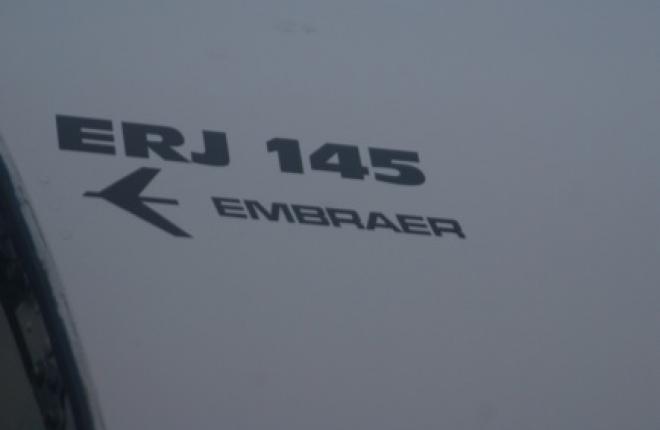 """Третий самолет Embraer ERJ145LR авиакомпании """"Комиавиатранс"""" вылетел в Россию"""