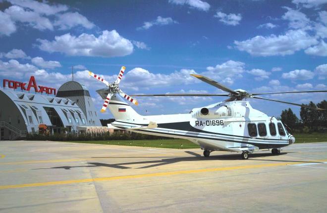 """""""Скайпро Хеликоптерс"""" получила вертолет AW139 российской сборки"""