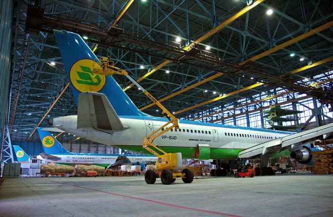 Uzbekistan Airways подготовилась к ремонту Boeing 787