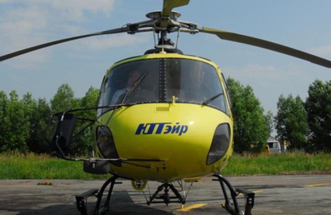 Авиакомпания «ЮТэйр» сообщила о катастрофе вертолета Eurocopter AS-350