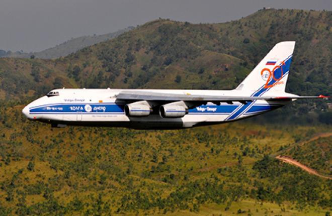 Ан-124-100 «Руслан» совершил 88 рейсов из аэропорта Порт-Морсби на взлетно-посад