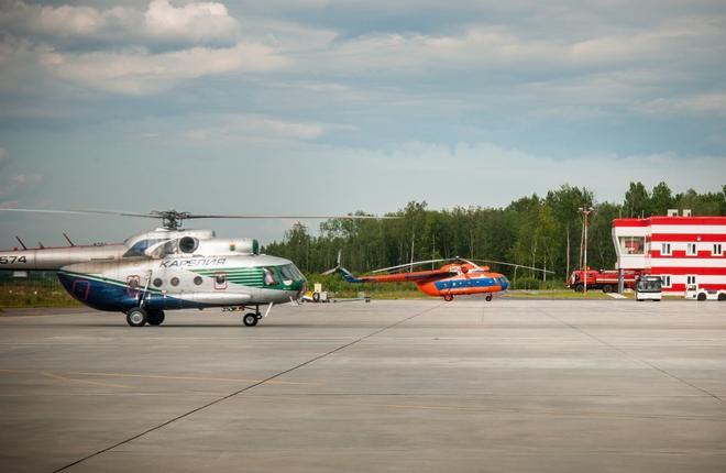 Аэропорт Петрозаводска вернулся к техобслуживанию вертолетов Ми-8Т