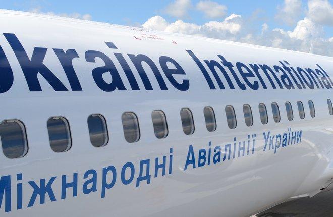 """Самолет B-738-800 авиакомпании """"Международные авиалинии Украины"""""""