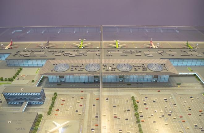 макет аэропорта Толмачево
