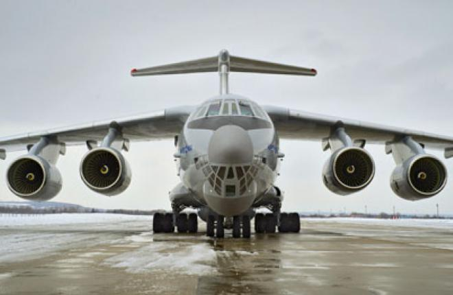 The Russian Air Force has ordered 39 Il-76MD-90A transport aircraft