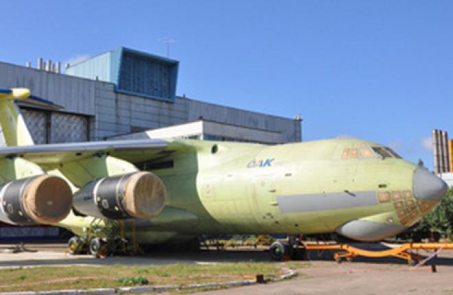 """Ил-476 готовится к первому полету :: """"Авиастар-СП"""""""