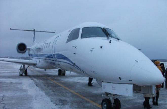 """Авиакомпания """"Комиавиатранс"""" получила второй Embraer ERJ145LR"""