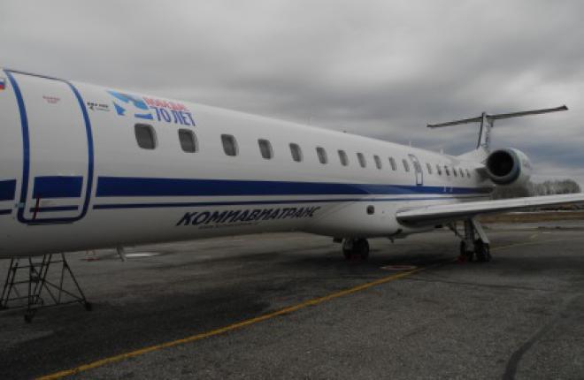 """Авиакомпания """"Комиавиатранс"""" получит четвертый Embraer ERJ145LR"""