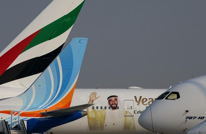 Экспозиция Dubai Airshow 2017