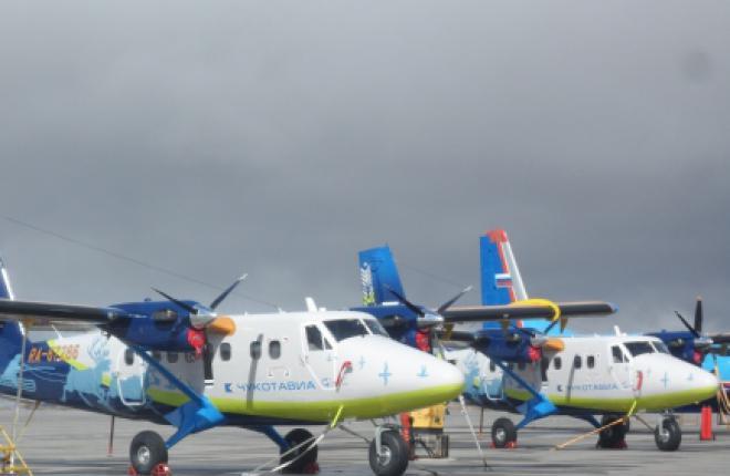 "На Чукотку прибыл четвертый DHC-6 Twin Otter для ""ЧукотАВИА"""