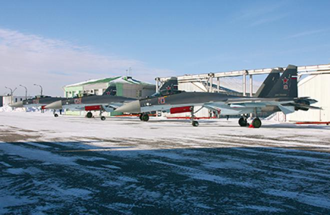 The military pilots from Dzemgi have started Su-35S operational testing in March