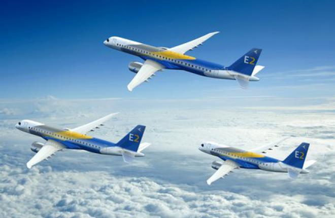 Embraer опередил конкурентов по числу заказов на региональные самолеты