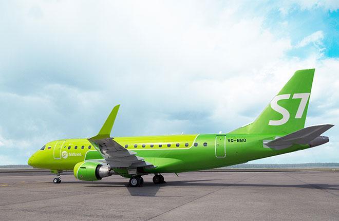 Самолет E170LR S7 Airlines