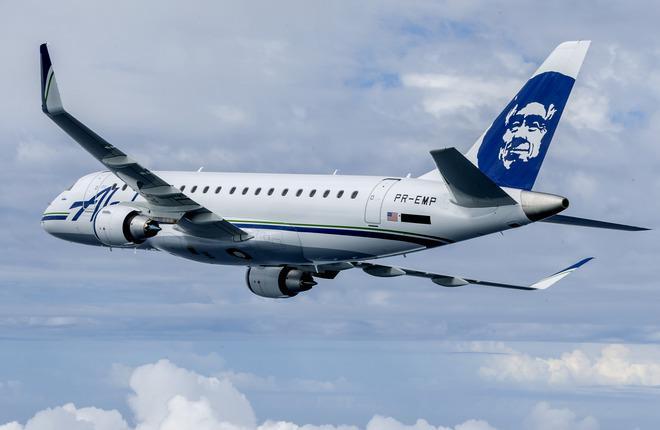 """Дочка"" авиакомпании Alaska Airlines заказала 30 самолетов Embraer E175"