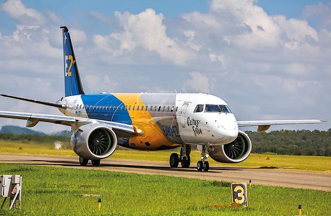 Самолет Embraer E190-E2