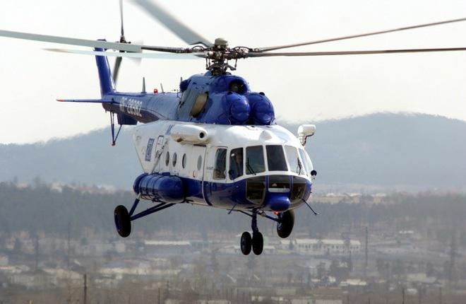 Чукотка арендует санитарный вертолет Ми-8