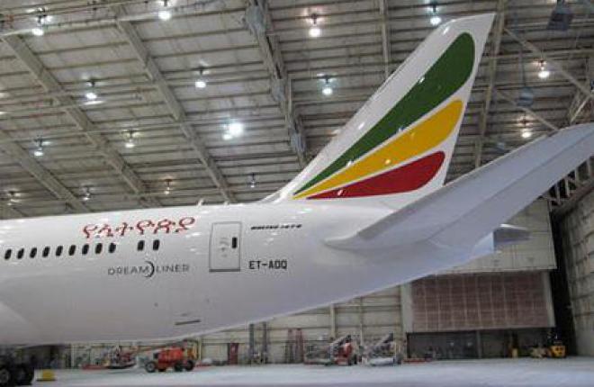 Boeing 787 авиакомпании Ethiopian почти отремонтировали