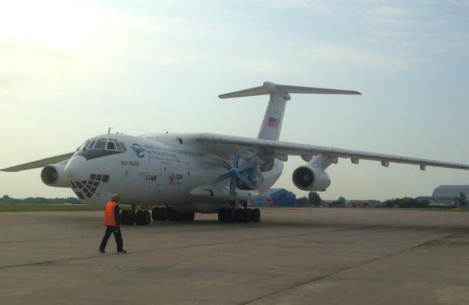 Летающая лаборатория Ил-76ЛЛ