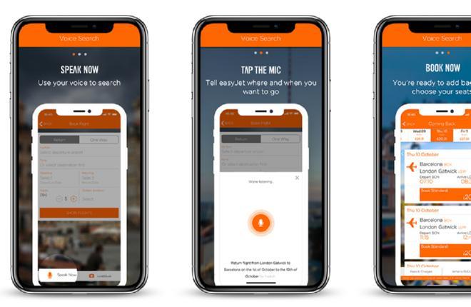 Мобильное приложение EasyJet