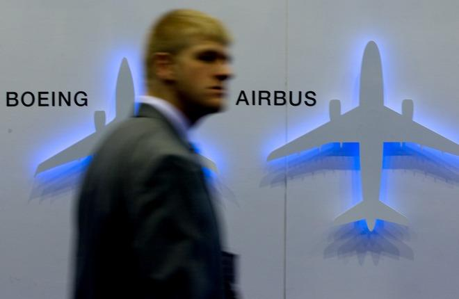 Самолеты Boeing и Airbus