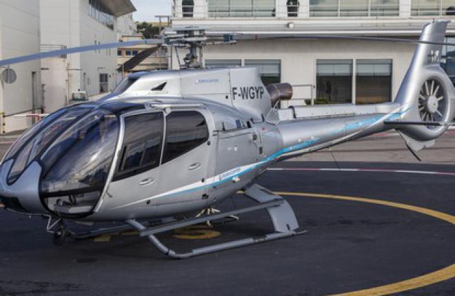Вертолет Eurocopter EC130 T2  к лету получит сертификат АР МАК
