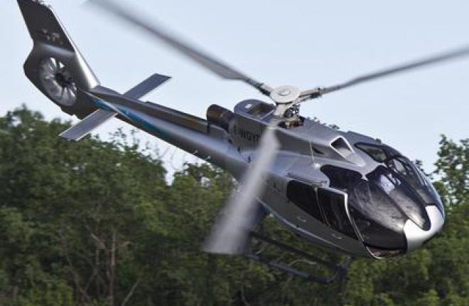 Первая поставка вертолета Eurocopter EC130 T2 в СНГ