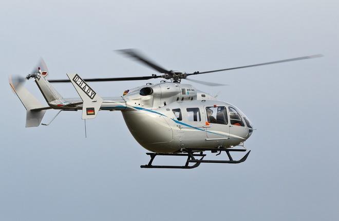 Вертолет EC145 производства Airbus Helicopters
