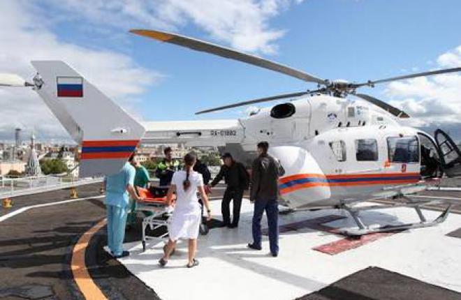 Москва получит от Airbus Helicopters два медицинских вертолета