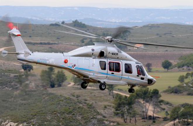 Второй опытный вертолет EC175