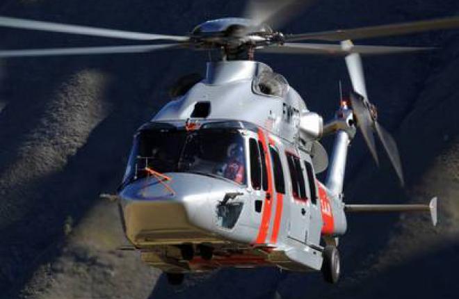 Новый семитонный вертолет Eurocopter EC175 нашел VIP-владельцев