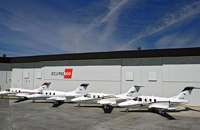 Eclipse Aerospace разрабатывает планы по усовершенствованию самолета Eclipse 500