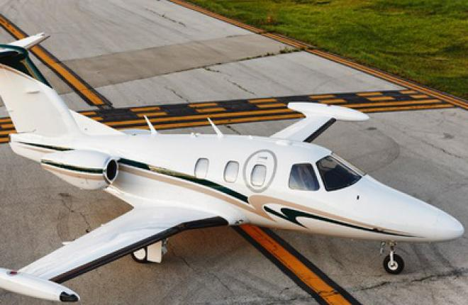 FAA сертифицировало производство легкого реактивного самолета Eclipse 550