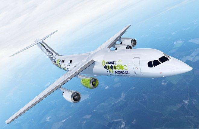электросамолет Airbus E-Fan X
