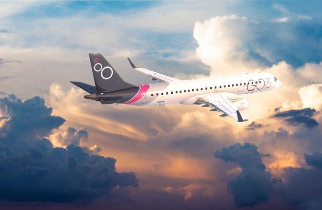 самолет итальянской стартап авиакомпании EGO Airways